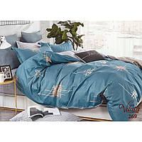 """Молодежный комплект евро постельного белья из сатина Viluta """"Линии"""""""