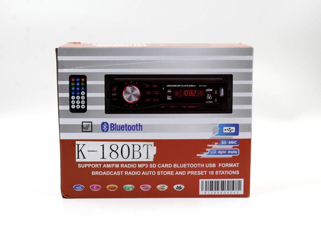 Автомагнитола CAR MP3 K180BT