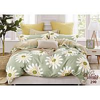 """Комплект двуспального постельного белья из сатина Viluta """"Большие ромашки"""""""