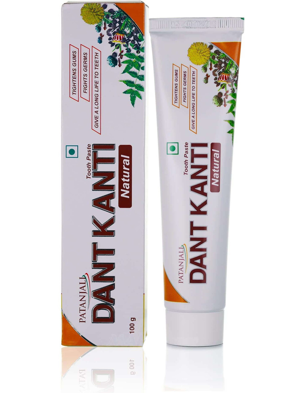 Зубная паста Dant Kanti Natural, Дант Канти Натурал, 100 гр Patanjali
