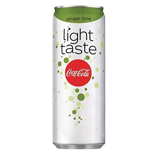 Освежающий напиток Coca Cola Light Taste Ginger - lime 330 ml