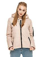 Женская куртка весна-осень с капюшоном, фото 1