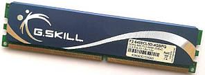 Игровая оперативная память G.Skill DDR2 2Gb 800MHz PC2 6400U CL5 (F2-6400CL5D-4GBPQ) Б/У
