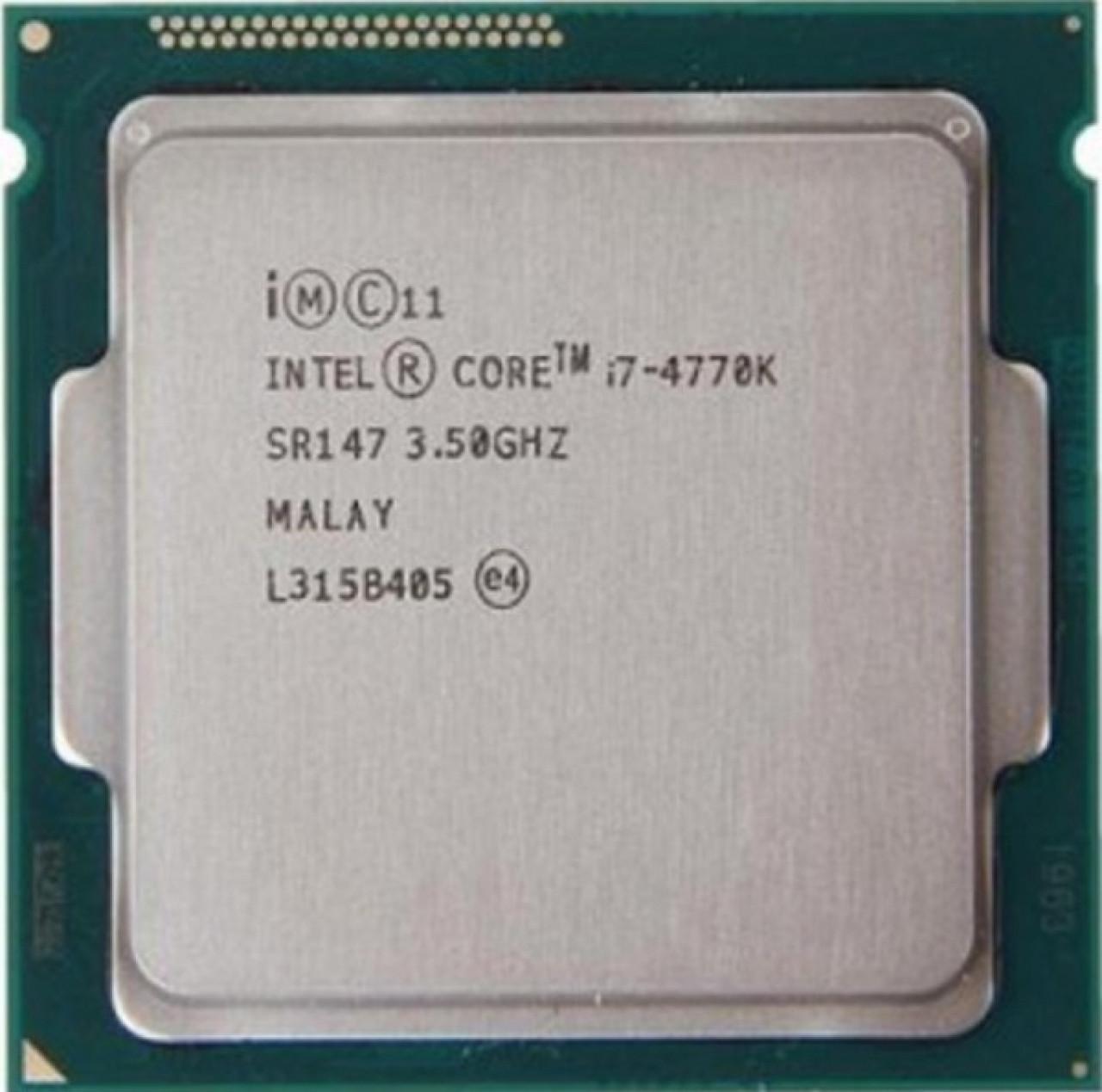 Процессор Intel Core i7-4770K BX80646I74770K 3.5GHz Socket 1150 Tray Б/У