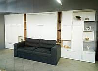 Шкаф кровать HELFER PLUS NEW 160 + дополнительные модули