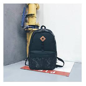 Рюкзак з піксельною принтом