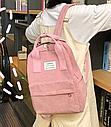 Рюкзак с ручками розовая пудра, фото 2