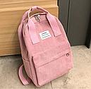 Рюкзак с ручками розовая пудра, фото 4