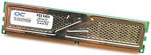 Игровая оперативная память OCZ Platinum DDR2 2Gb 800MHz PC2 6400U CL5 (OCZ2P8004GK) Б/У