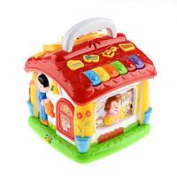 Развивающая игрушка говорящий домик Теремок JT 9149