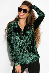 Рубашка женская 121P011 (Изумрудный)