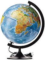 Глобус фізико-політичний з підсвіткою / Глобус физико-политический с подсветкой