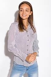 Рубашка женская 118P009 (Светло-серый)