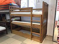 Ліжко двоярусне з підйомним механізмом Серафіна