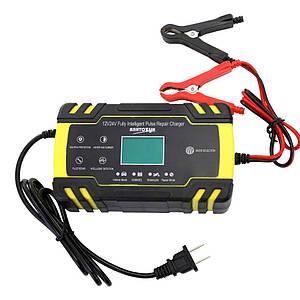 Автоматичний зарядний пристрій для авто, мото, човнових акумуляторів Autozyx ZYX-J30 12-24V 8А