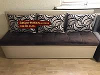 Диван для узкой кухни, коридора с ящиком + спальным местом 1800х550х800мм, фото 1