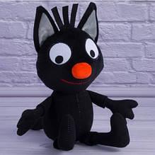 Кот Сажик черный м/ф Три кота