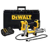 Аккумуляторный инструмент для смазки DeWalt DCGG571M1