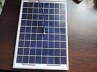 Панель солнечной зарядки для девайсов, 10Вт, производство Великобритания, поликристаллическая
