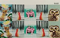 Водные наклейки (слайдер дизайн) для ногтейS1115