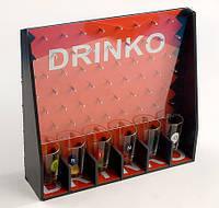 Игра настольная Drinko (в наборе 6стопок) 28 см BonaDi 725-A32