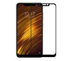 Захисне Скло Full GLUE 2.5 D Xiaomi Pocofone F1 (Чорний)