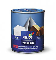Эмаль алкидная HELIOS TESSAROL Antik антрацит для дерева и металла 0,75 кг