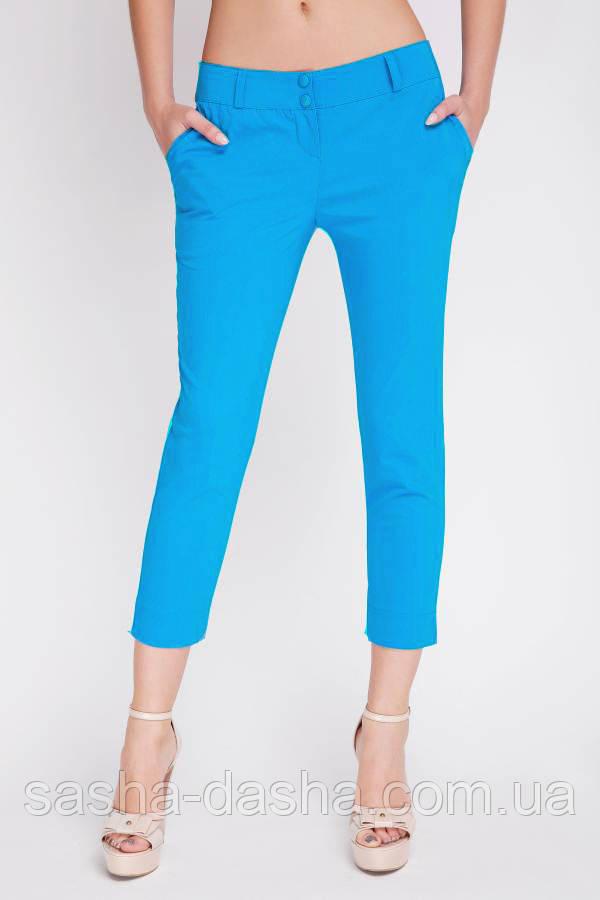 💠 Недорогие легкие элластичные брюки на лето зеленые. Есть батал