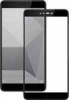 Защитное cтекло Full Glue для Xiaomi Redmi Note 4X (Черный)