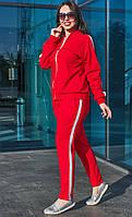 Стильный женский костюм! Цвет:красный