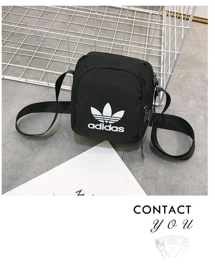 Сумка-планшет Adidas черная (реплика)