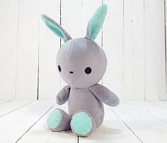 Мягкая игрушка Strekoza заяц Флип-Флоп 21см серый
