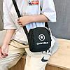 Сумка-планшет Converse черная (реплика), фото 4