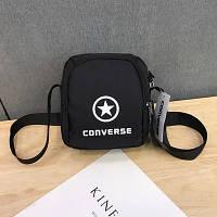 Сумка-планшет Converse черная (реплика)