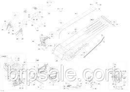 Винт M6 X 25 BRP Screw 933 'HEX. SCREW M6 X 25