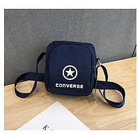 Сумка-планшет Converse темно-синяя (реплика)