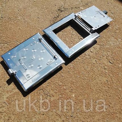 Дверца прочистная Нержавейка Средняя 175*175мм, фото 2