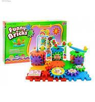 3D конструктор Funny Bricks для детей | развивающий пластмассовый конструктор Фанни Брикс