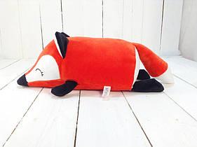 Мягкая игрушка валик Strekoza лисенок Фокси 31 см красный