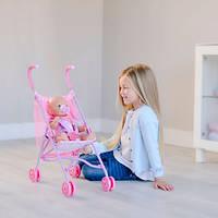 Коляска прогулочная для кукол Baby Born - Волшебная Прогулка (высота к ручке 59см), Zapf Creation 3+