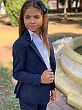 Красивый пиджак для девочки,размеры:122,128,134,140,146,152., фото 4