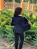 Красивый пиджак для девочки,размеры:122,128,134,140,146,152., фото 7
