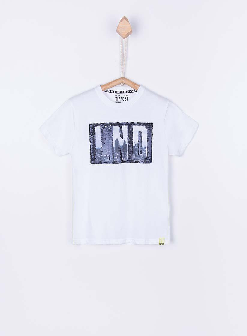 Детская футболка для мальчика TIFFOSI Португалия 10027694 Белый