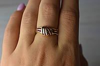 Золотое кольцо с Рубинами 14К (585 проба)
