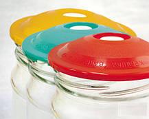 Вакуумные крышки для консервации и долгого хранения продуктов ВАКС (В наборе 9 крышек), фото 3