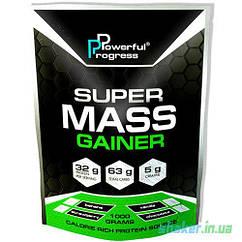 Гейнер Powerful Progress Super Mass Gainer (1 кг) паверфул прогресс супер масс cookies cream