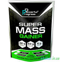 Гейнер для набора массы Powerful Progress Super Mass Gainer (1 кг) гейнер поверфул прогресс tiramisu