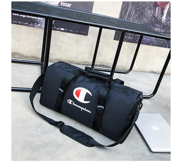 Спортивная сумка  Champion черная (реплика)