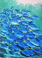 """Картина """"Блакитна безодня"""""""