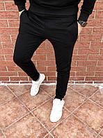 Мужские черные спортивные штаны, джоггеры, спортивні штани